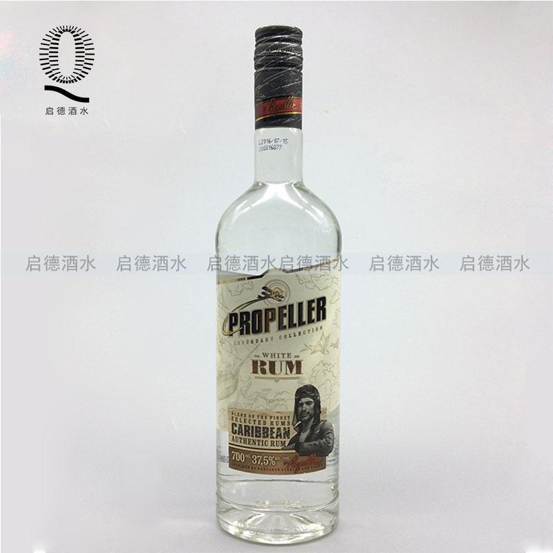 立陶宛螺旋桨白朗姆酒珍藏白标朗姆酒PROPELLER RUM 700ml 洋酒