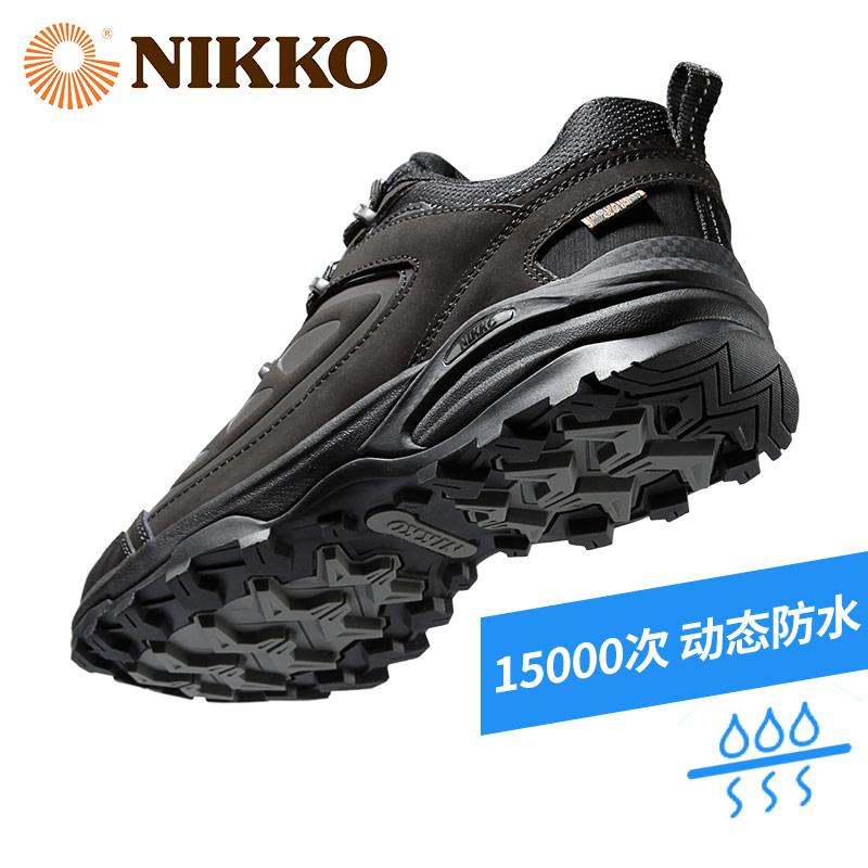 Nikko日高户外登山鞋男防水防滑耐磨夏季徒步鞋女轻便透气山地鞋