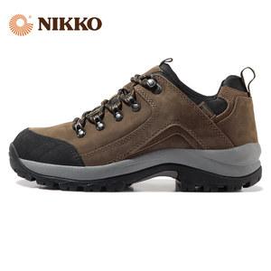 Nikko日高户外男鞋防水登山鞋防滑耐磨徒步鞋运动休闲鞋爬山鞋
