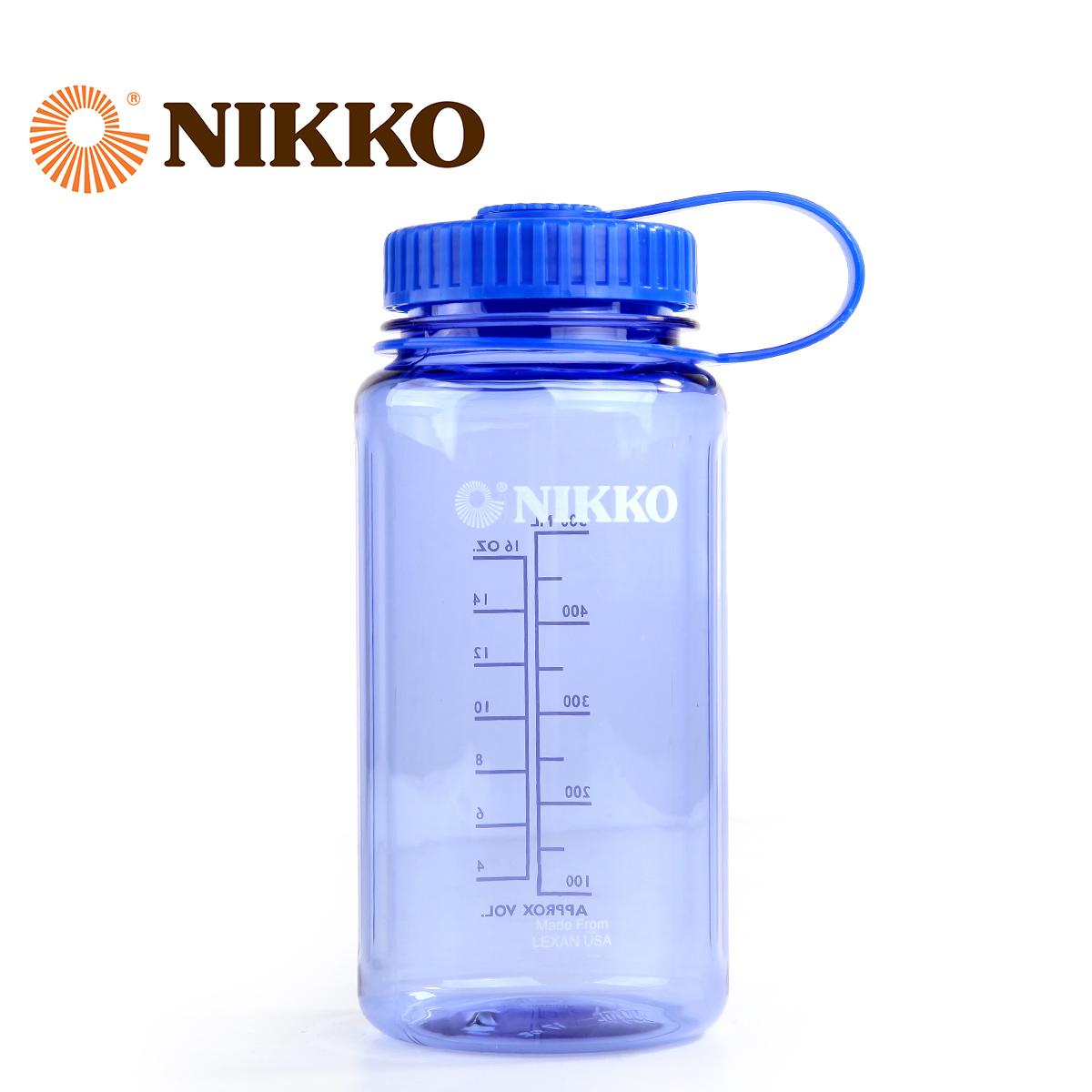Nikko日高 500ml阔口水壶户外水瓶大容量抗摔耐高温便携NCW2500