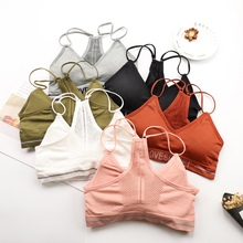 Women Tube Tops Bra Crop Underwear Sexy Lingerie for Women