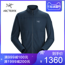 18 Autumn Winter new Arcteryx Archaeopteryx men outdoor Vertical collar Fleece jacket Delta LT 17586