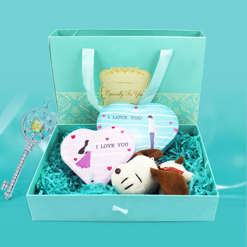 KISSES好时之吻好时巧克力礼盒装 圣诞送女友男友年货生日礼物图片