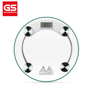 领【1元券】购买180KG/396LB Digital Glass LCD Electronic Weight Body Scale