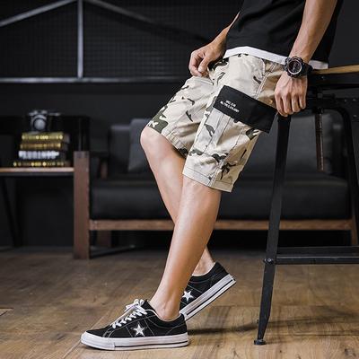 B257A时尚先生k8010#2019夏新品高品质户外迷彩短裤P48