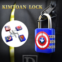 旅行箱挂锁背包拉链密码锁健身房学生宿舍抽屉柜子迷你防盗小锁