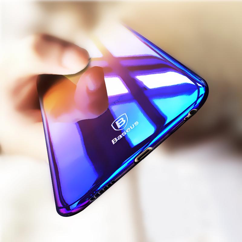 倍思iPhone6手機殼蘋果6s電鍍plus超薄6防摔套全包情侶P女潮男SP