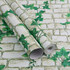 Self-adhesive dormitory men and women creeper stickers bedroom living room decoration wall table cabinet refurbished rural pvc wallpaper