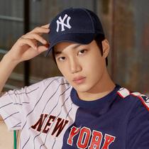 韩国正品代购MLB直邮 19男女款经典字母棒球帽 户外休闲鸭舌帽子