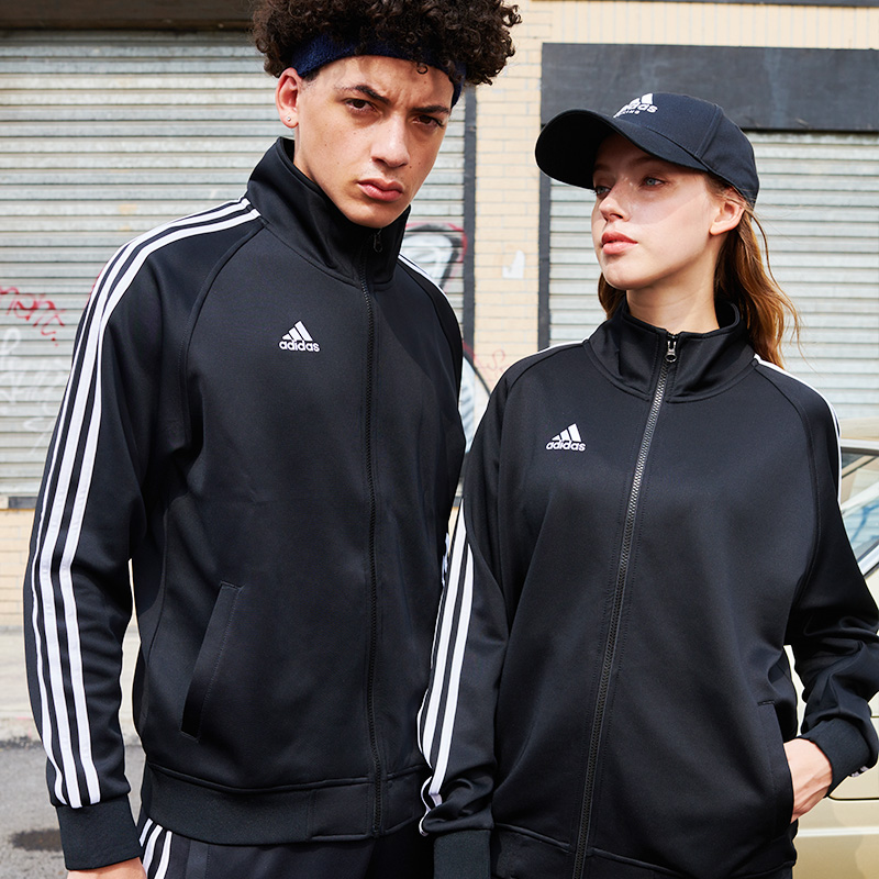 Adidas Adidas official website jacket men and women 2020 autumn and winter couple casual jacket sportswear jacket jacket