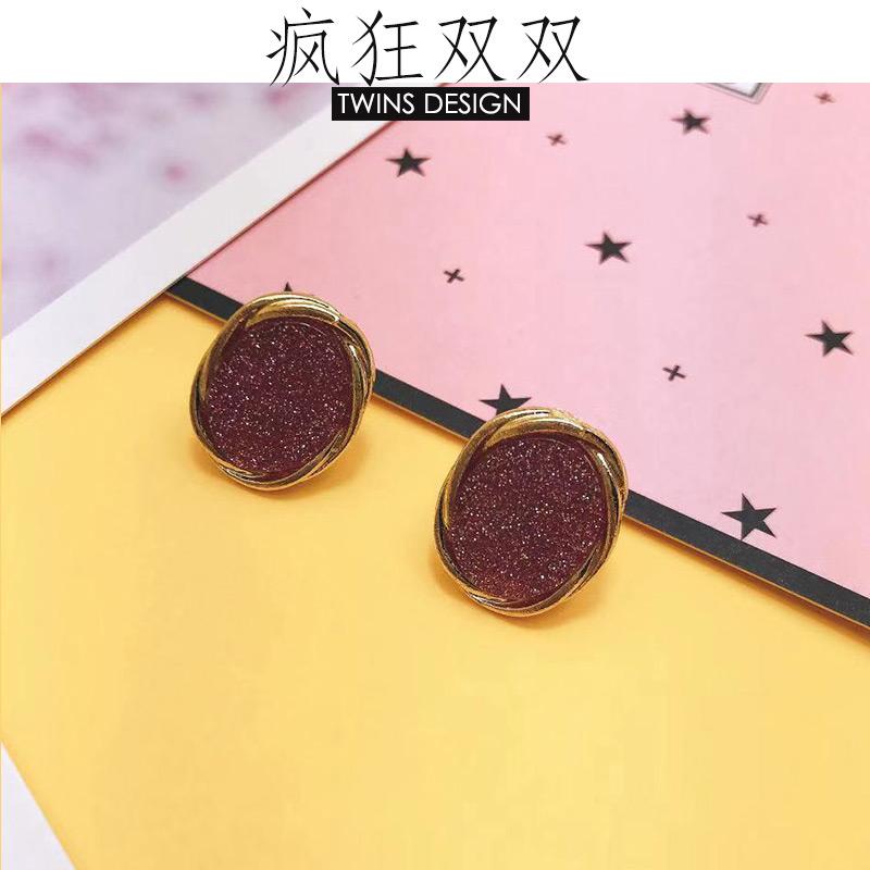 [RMB 39 in package] stars, minimalist temperament, ol style earrings, personality, all kinds of hemp edge Earrings