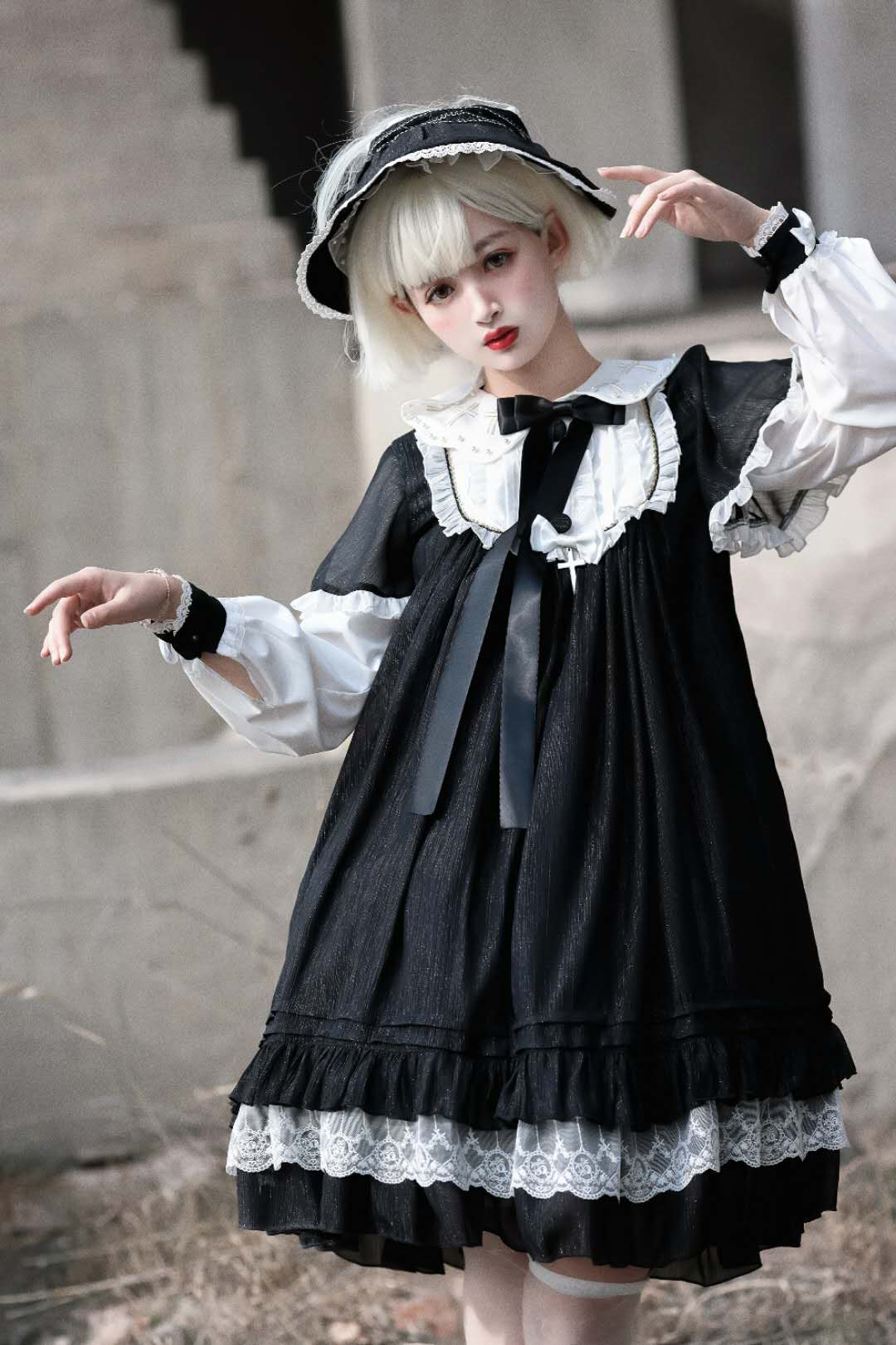 [seven baby] in the process of production of Utopia OP dress