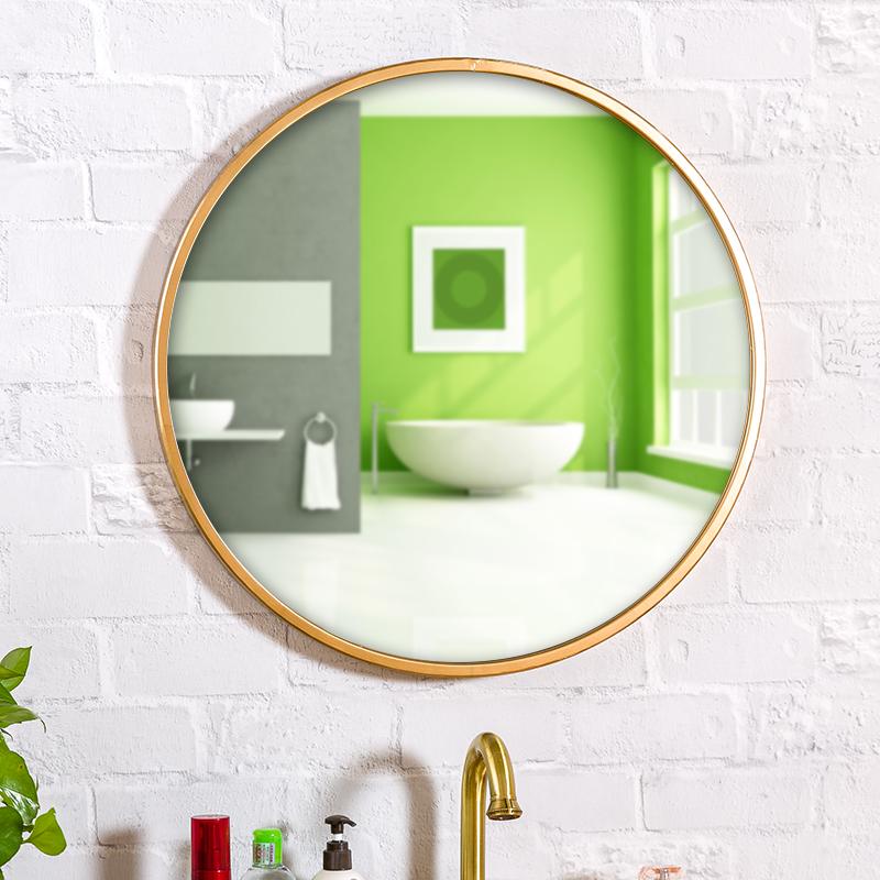 Нордический ванная комната зеркало континентальный юань цзин настенный зеркало мойте руки между соус зеркало американский соус зеркало декоративный зеркало гостиная зеркало