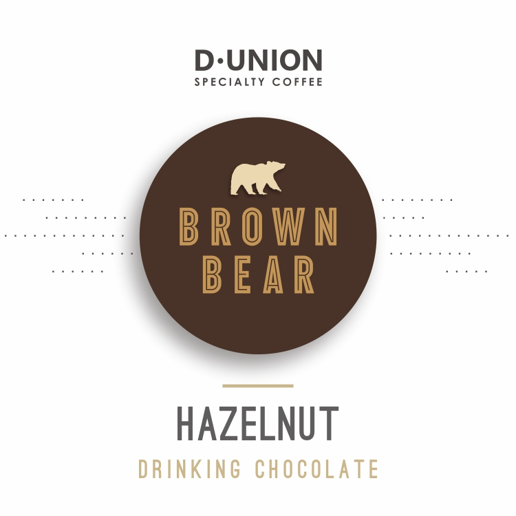 Brown bear hazelnut chocolate powder cocoa powder imported from Australia 500g canned general agent