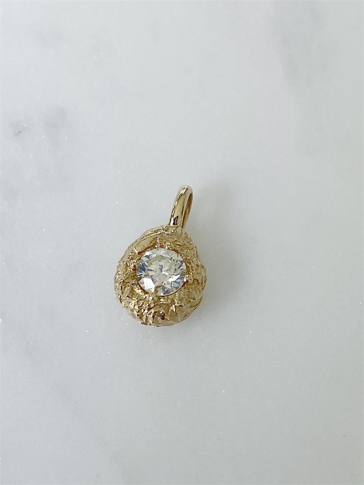 陨石18K金钻石挂坠 百搭锁骨项链女 姜面条啊推荐Chic Chick CC53