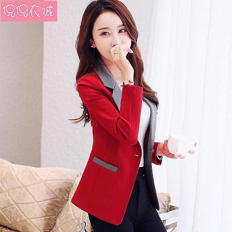 2021春装新款女士韩版修身潮小西服评价如何