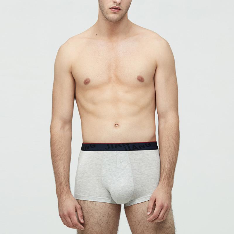 健将莫代尔纯色时尚内裤