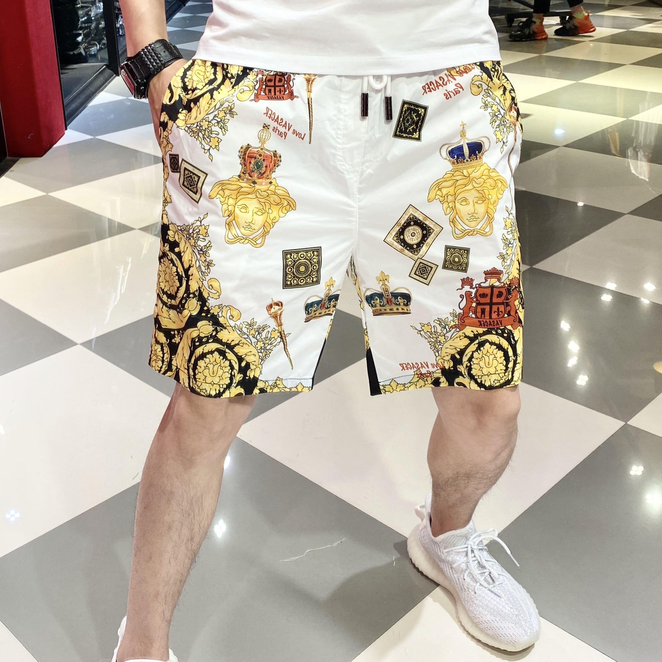 帝哲尼短裤男2020夏新款五分裤潮牌潮流休闲裤宽松男裤运动沙滩裤