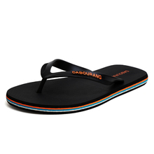 Flip flop men's summer Korean Trend antiskid slippers men's fashion wear clip on beach men's outdoor sandals