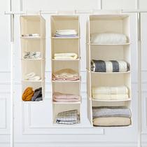 布衣柜收纳架内衣寝室衣服收纳整理箱悬挂式多层宿舍神器收纳挂袋