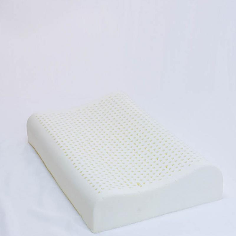 12-02新券新品 黛梦得乳胶枕头波浪枕护颈椎枕芯泰国进口乳胶含枕套