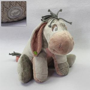 百亩森林小熊维尼历险记伊尔驴Eeyore驴子毛绒玩具公仔礼物洋娃娃