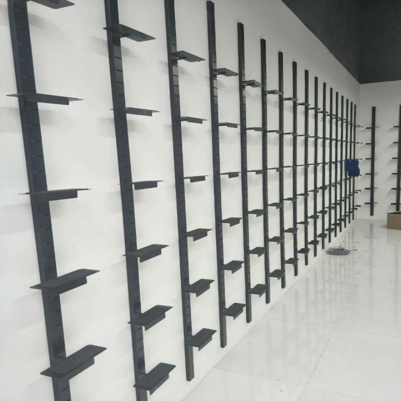 专卖店上墙鞋架组合展示架商场鞋店运动休闲鞋货架鞋店专用图片