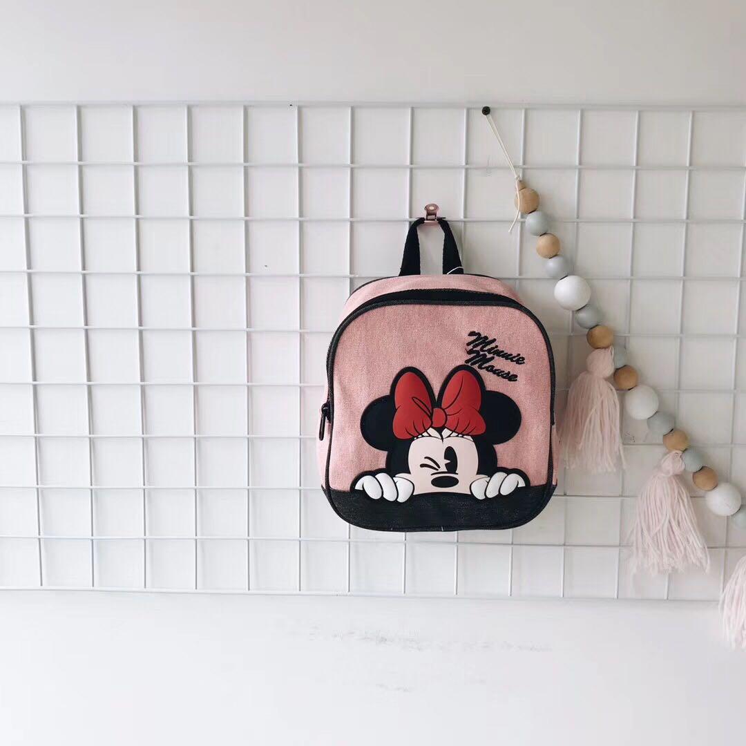 2019zara同款新款粉色迪士尼双肩包(用1元券)