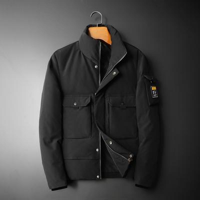 冬季新款立领短款白鸭修身男士羽绒服钱塘2009货号Y080 P310