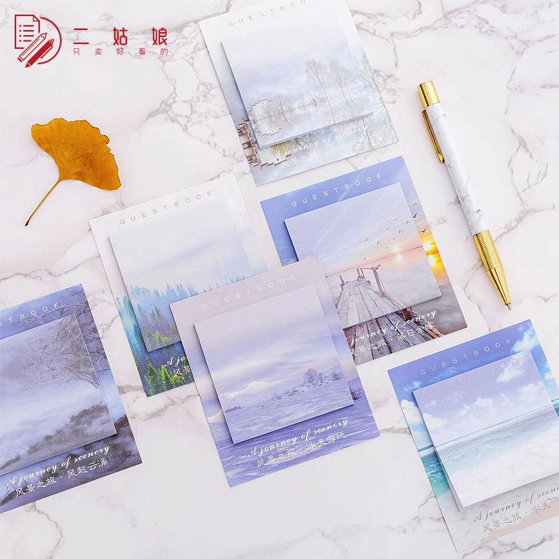 便利贴ins 韩国可爱创意小清新古风简约学生用免邮个性长方形大号满12.00元可用2.1元优惠券
