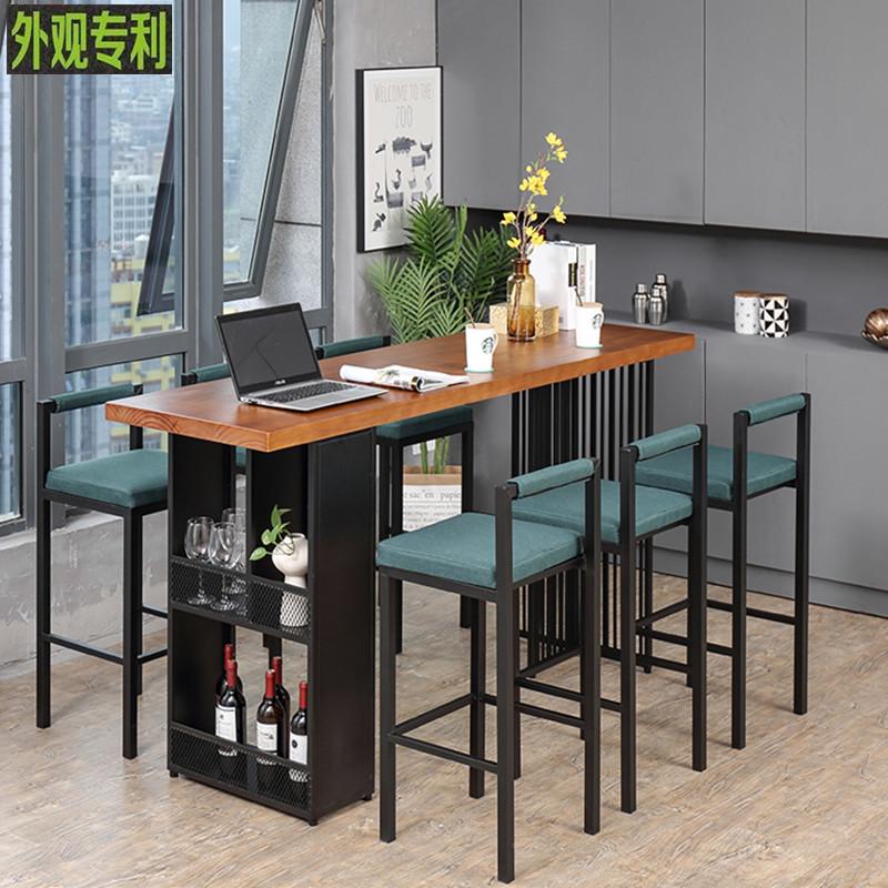吧台桌家用咖啡厅多功能酒吧桌椅用后评测