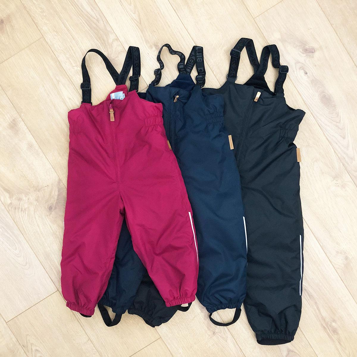 芬兰reima儿童高腰男女新款滑雪裤