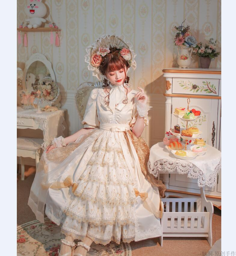 [final payment coming] Lolita with OP flower