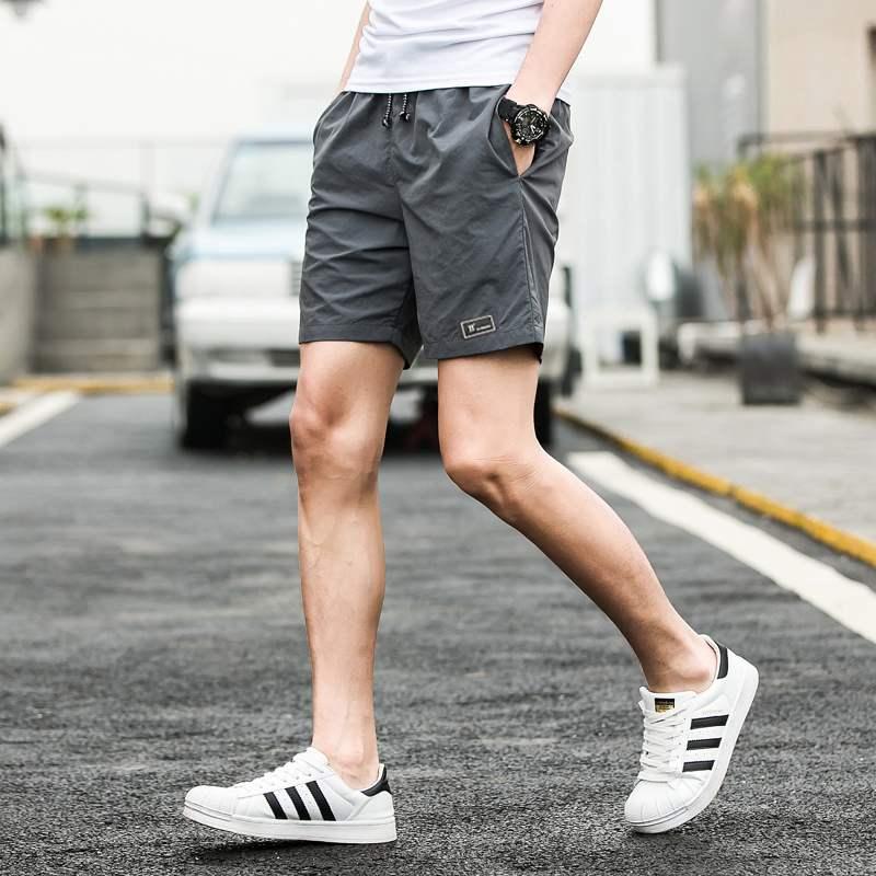 Xinyi Anta snow summer mens chemical fiber ultra-thin shorts beach pants 3-point pants summer students