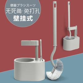 马桶刷子家用小头厕所洗坐便器无死角清洁缝隙刷长柄卫生间清洁刷图片