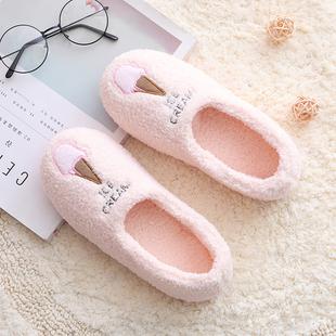 春季 厚底防滑软底秋冬产妇拖鞋 月子鞋 春秋加厚产后包跟女冬孕妇鞋