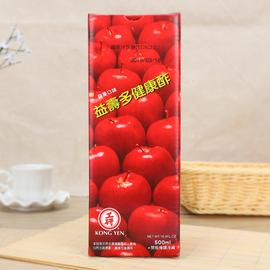 工研苹果醋健康醋 台湾进口水果醋使用果汁醋饮料醋制品瓶装包邮图片