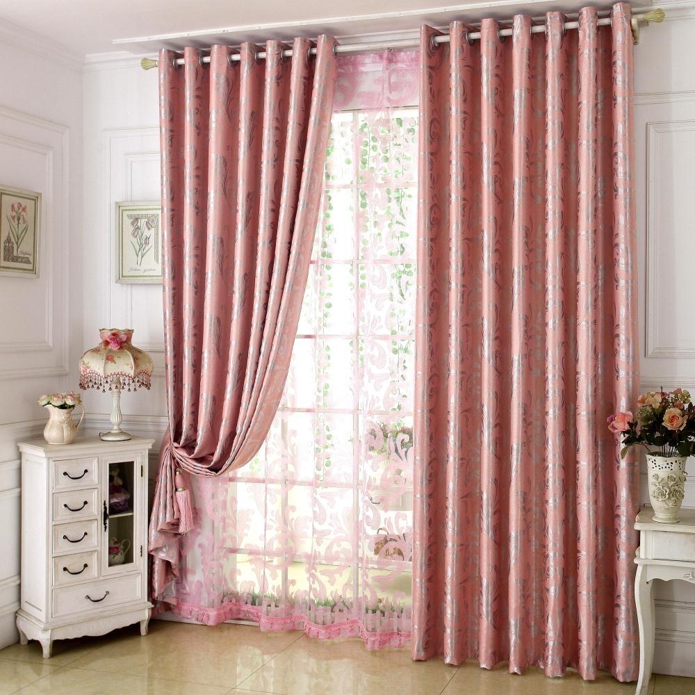 高遮光窗帘成品布料加厚现代简约欧式客厅卧室落地窗飘窗婚房定制