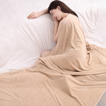 浴巾家用情侣男女纯棉全棉大号吸水速干不掉毛超大裹巾可穿毛巾女