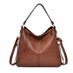 新款热卖欧美女包软皮包复古单肩斜挎包包大包女士包