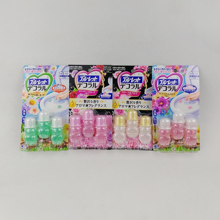 批 发日本小林马桶开花凝胶厕所清洁剂