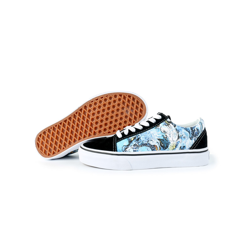 Canvas shoes mens new products versatile yellow Sam couple low top sports fashion trend classic printed skateboard shoes for men and women