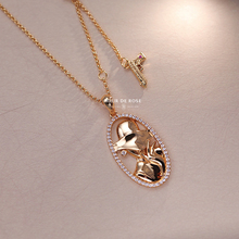Gentle woman effortless fashionable original design silver plated Collar Bone Necklace French Retro