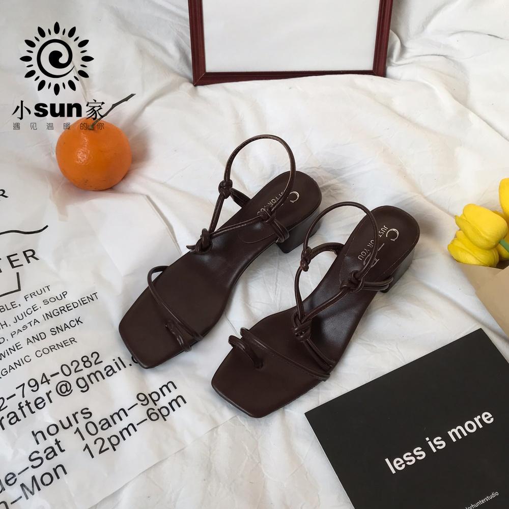 小sun家韩国ulzzang夏季仙女鞋12-01新券
