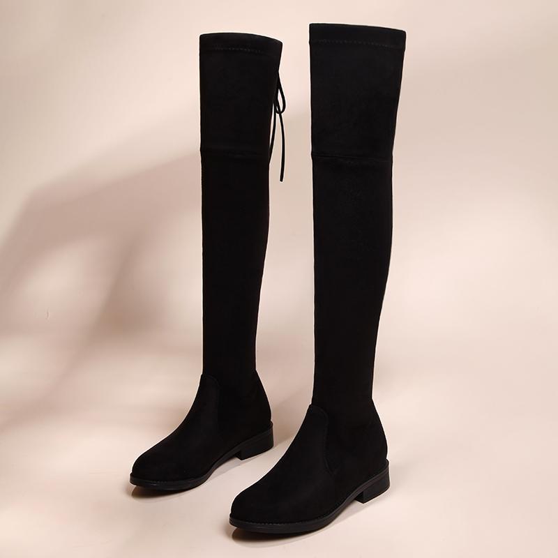 MaddenGirl漆皮高筒靴