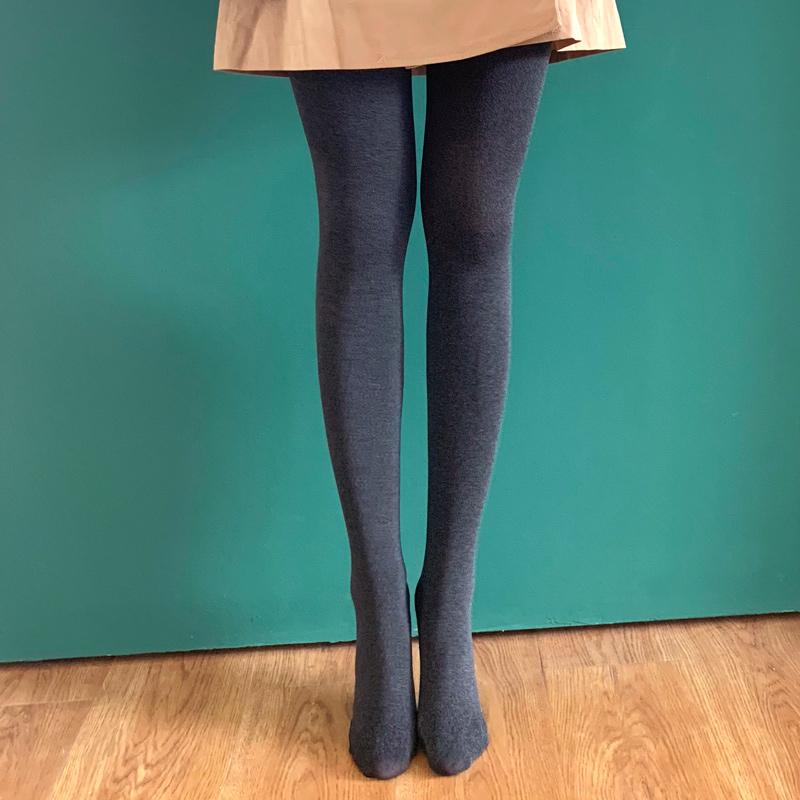 超显瘦!100D秋季天鹅绒哑光丝袜女打底袜黑色肉色美腿塑形连裤袜