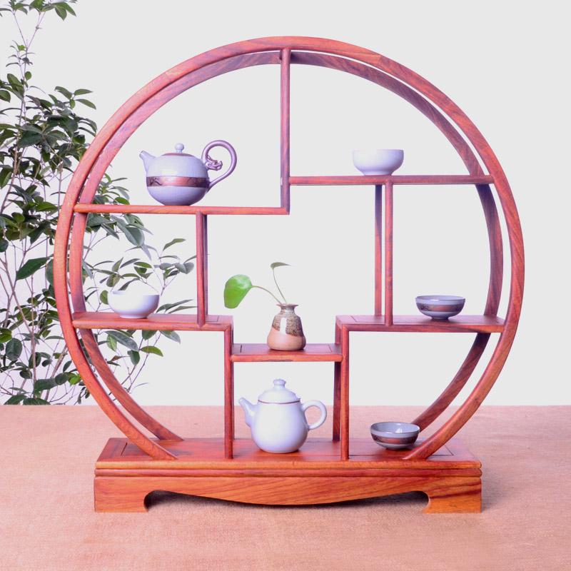 茶壶架实木工艺品古董摆件展示花梨木置物紫砂壶摆放收纳茶具架子
