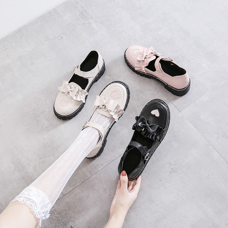 Fog and rain uniform shoes Lolita shoes childrens 2020 new summer Department: lovely soft girl Lori shoes