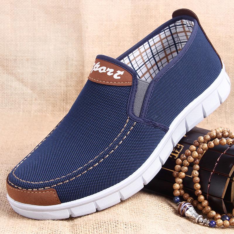 Мужская обувь в год отец обувной 40-50 лет случайный движение осень мужской уютный мода обувь весенний и осенний сезон. 2017