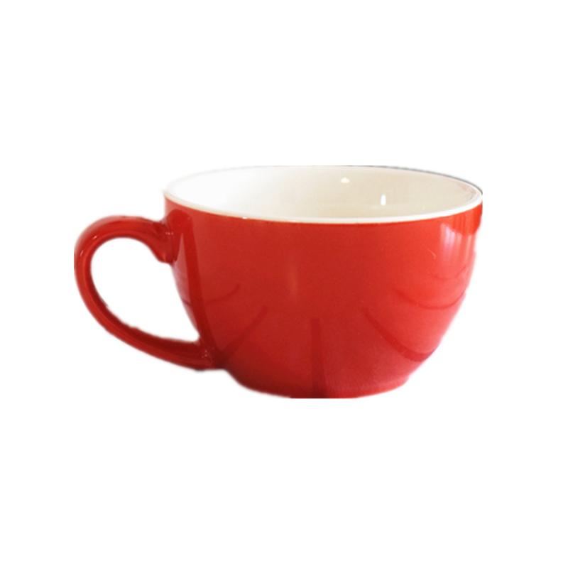 特价单杯300ml陶瓷咖啡杯拉花比赛杯拿铁杯卡布杯泽田杯咖啡厅杯